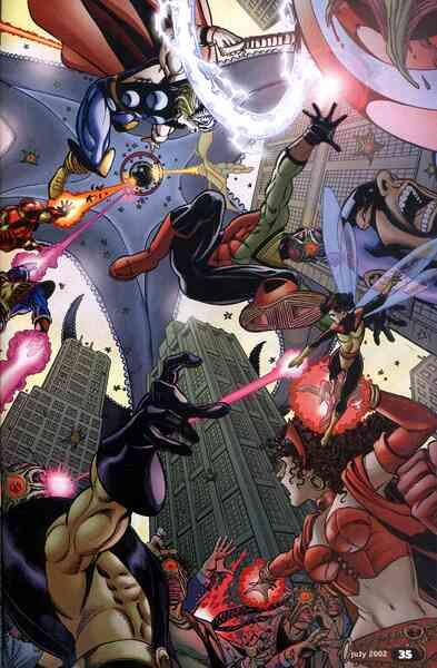 Liga da Justiça e Vingadores - Ação Pura