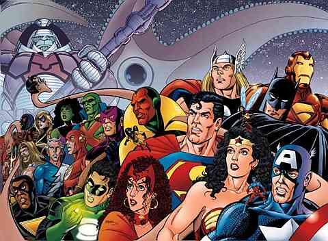 Liga da Justiça e Vingadores